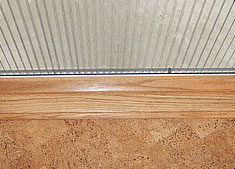 Plisse Oak Threshold Adapter